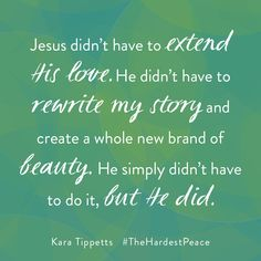 Jesus didn't have to give us but He did. And we are so thankful. Favorite Words, Favorite Quotes, Cancer Fighter, Biblical Inspiration, Jesus Loves You, Big Love, Christian Quotes, Book Quotes, I Am Awesome