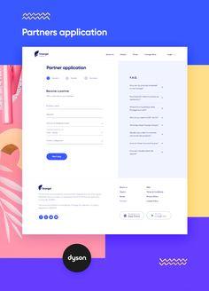 Finangel Partners on Behance Form Design Web, Web Ui Design, Dashboard Design, Web Design Trends, Design Design, Dashboard Ui, Design Thinking, Presentation Layout, Ui Web