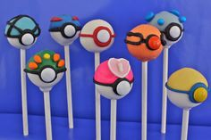 Pokemon cake balls! So cute and sooo easy!