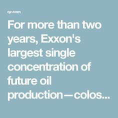 For more than two years, Exxon's largest single concentration of future oil production—colossal reserves in Russia—has been suspended because of US sanctions over the invasion of Ukraine.