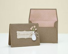 A link to instructions to make your own card with the Cricut® Art Philosophy cartridge! #CTMH