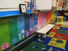 Classroom Organization:  Word Wall idea.