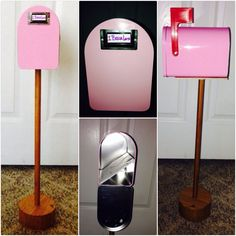 #mailbox we made for Becca for #christmas #diy #fun #simple