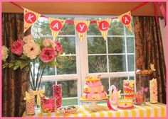 Tizzi Lish: Butterfly Birthday Party
