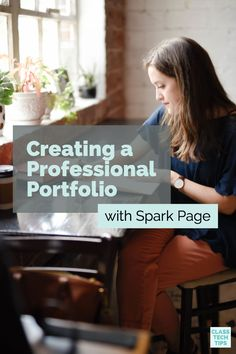 Creating a Professional Portfolio with Spark Page