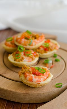Malaysian little savoury bites ~ Kuih Cara / little dumplings with spicy chicken and prawn