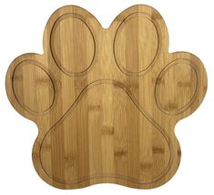 Paw Shaped Bamboo Serving And Cutting Board - Buy Bamboo Serving And Cutting Board Product on Alibaba.com