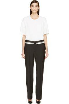 Maison Margiela - Black & White Trompe L'Oeil Jumpsuit