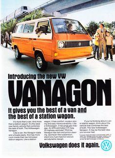 1980 Volkswagen Vanagon Photo The Best of Van Wagon Promo Print Ad | eBay