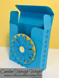 Cute Daisy Delight Box - Ideal for 3 by 3 cards - Video Tutorial, Stampin' Up New Catalogue Week