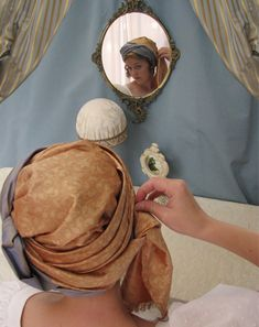 Creating Wrapped Turbans Tutorial by Lynn McMasters