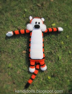 Hobbes crochet pattern by amigurumi photos, via Flickr