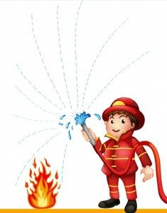 fire safety week worksheet for kids Fireman Crafts, Fire Safety Week, Fire Prevention Week, Daycare Themes, Community Helpers Preschool, Pre Writing, Worksheets For Kids, Preschool Activities, Calendar