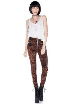 unif axl pants leopard