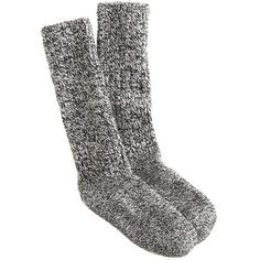 J.Crew Women's camp socks ($16) ❤ liked on Polyvore featuring intimates, hosiery, socks, accessories, shoes, underwear and j crew socks