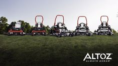 """The Altoz TRX zero-turn mower is uniquely suited for the """"tough jobs,"""" especially on slopes and wet, rough or untamed terrain. Perfect for reclaiming property where sharp objects pose a threat to tires. Best Zero Turn Mower, Zero Turn Lawn Mowers, Trx, Bobcat Equipment, Landscaping Equipment, Lawn Care Business, Utility Tractor, Star Wars Characters Pictures, 3d Modelle"""