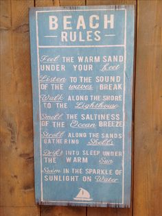 Beach Rules, Waves, Wave