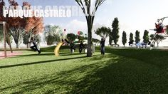 Parque Castrelo - Portada de Proyecto http://www.ingepaisajes.com/album/parque_castrelo