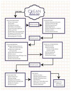 Free Clean House Worksheet