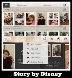 Easy to use Story by Disney takes photos from your iPhoto library and turns them into shareable photo albums. 3 Quick Ways to Organize and Share Digital Photos