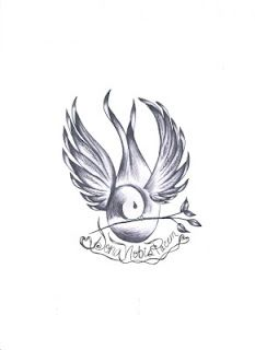 Dove tattoos with banners - photo#21