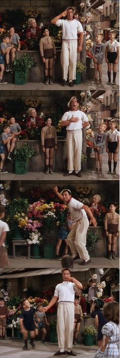 Soldier! Napoleon! Cowboy! Charlie Chaplin! Gene Kelly's creative tap-dance number in An American in Paris 1951