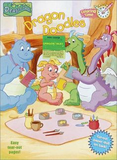 Playskool Dragon Tales Wooden Puzzle