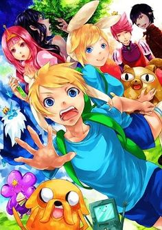Adventure Time, Anime Style!