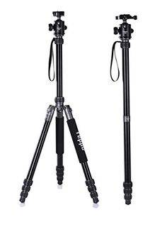 Introducing 69 Inch Camera Tripod REPPO P18 Aluminium Foldable camera tripods With Ball Head Quick Release Plate and Carry Case For DigitalVideoDSLR Cameras Matte SILVER. Great product and follow us for more updates!