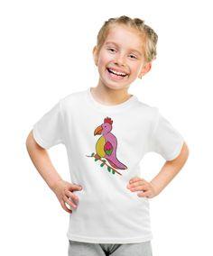 Parrot T-shirt without autograph