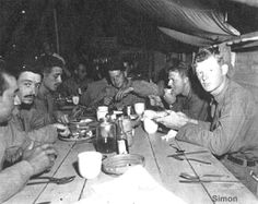 Korean War Mess Hall