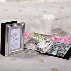 """Little Book Of Memories"" Silver Framed Mini Photo Album – USD $ 2.99"