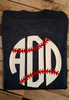 Womens short sleeve by MaidintheSouthVinyl Monogram T Shirts, Vinyl Shirts, Personalized T Shirts, Vinyl Crafts, Vinyl Projects, Baseball Shirts, Sports Shirts, Graphic Shirts, Printed Shirts