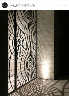 This fantastic shadow play created by the entrance gates at our Studley Avenue Residence was captured by project Architect Phoenix! Espace Design, Art Nouveau, Art Deco, Shadow Play, Entrance Gates, Garden Gates, Design Inspiration, In This Moment, Interior Design