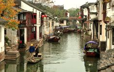 Zhejiang, China 25 Beautifully Cluttered Cityscapes In Asia Tibet, Visit China, Asia, Fantasy Places, Chinese Architecture, China Travel, Trip Advisor, Beautiful Places, Watercolor Paintings