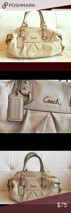 Coach Satchel Good condition, slightly worn. Coach Bags Satchels