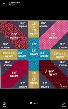 August 2014 Lottery Block X and 2019 Emerald Coast Modern Quilt Guild: August 2014 Lottery Block X and The post August 2014 Lottery Block X and 2019 appeared first on Quilt Decor. Scrap Quilt, Patchwork Quilting, Quilting Tips, Quilting Tutorials, Quilting Designs, Quilt Blocks, Modern Quilting, Longarm Quilting, Machine Quilting