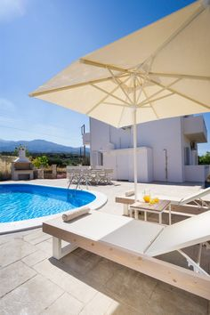 Villa Cacasa is a just renovated Villa with a private pool, in the tranquil small village of Choumeri. The villa is located km from the . Rent Apartment, Summer Vacations, Old Port, Nature View, Crete Greece, Next Holiday, Enjoying The Sun, Ultimate Travel, Beach Hotels