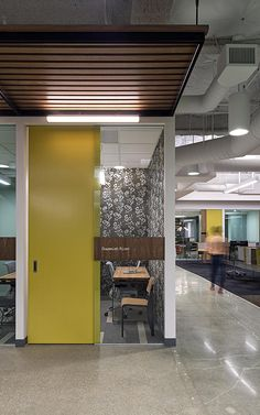 10 | Inside Zazzle's Sleek New Headquarters | Co.Design | business + design // love that wall covering!