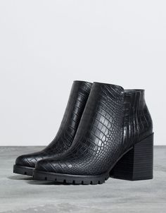 Boots & Ankle boots - WOMAN - Shoes - Bershka Bosnia and Herzegovina