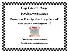 Promoting positive behavior management is one of my favorite things to do! The Clip Chart System is a wonderful way to implement positive . Hollywood Theme Classroom, Classroom Themes, Positive Behavior Management, Classroom Management, Lights Camera Action, Behaviour Chart, Movie Themes, Teaching Tools, Crafts To Do