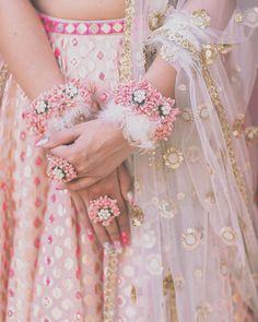 Bride & Bridesmaid Mehendi Shoot indian wedding, Pre Wedding shoots, Videography in Delhi NCR Bridal Nails Designs, Bridal Mehndi Designs, Flower Jewellery For Mehndi, Flower Jewelry, Body Jewellery, Bridal Outfits, Bridal Dresses, Indian Wedding Jewelry, Bridal Jewelry