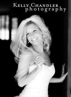 Bride Smile Doorway