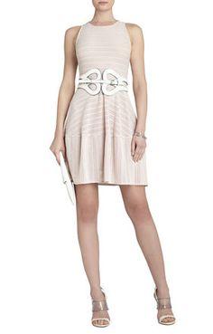 Love this dress belt combo by BCBG on Hanna!
