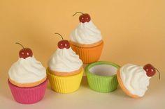 'Cherry on top' Cupcake