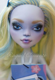 *LILO* OOAK repaint custom Monster high doll Lagoona Mattel by Raquel Clemente