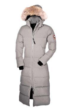 White Down Winter Coat | Winter