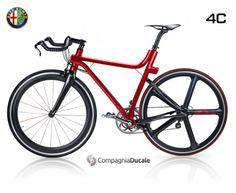 Alfa Romeo 4C IFD bicycle
