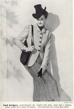 Spring suit by Creed from Eve's Journal March 1939