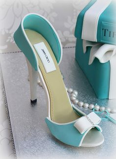 tiffany cake and shoe | Lynette Brandl | Flickr